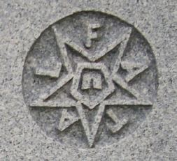 Order of the Eastern Star cemetery symbol - fatal