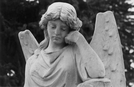 Angel from Fairmount Cemetery, Denver, Colorado