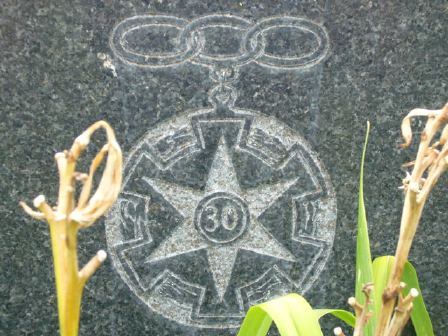 Odd Fellows - Three Link Fraternity - Cemetery Symbol