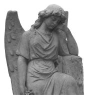 Fairmount cemetery angel