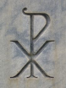 PX monogram - Chi Rho - Christ
