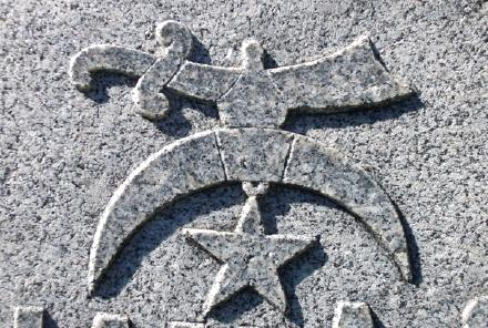Shriners Cemetery Symbol