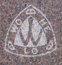 Wo-He-Lo - Camp Fire Girls cemetery symbol