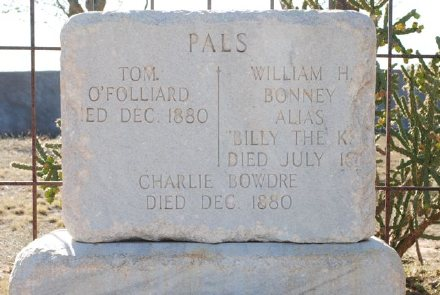 billy the kid dead. Billy the Kid#39;s Grave Marker