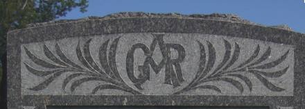 Grand Army of the Republic - Union Civil War veterans - cemetery emblem