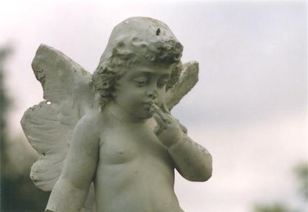 Cemetery Cherub