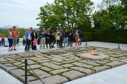 JFK's Grave, Arlington Cemetery